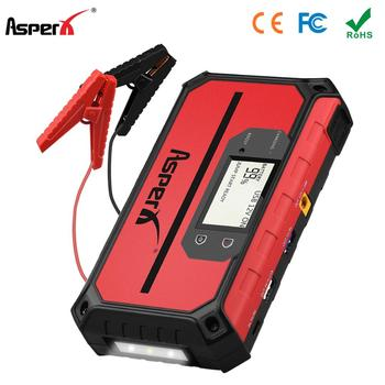 Asperx 12V 18000 Mah Auto Jump Starter Auto Uitgangspunt Apparaat Quick Charge Emergency Batterij Auto Booster Buster Power Bank
