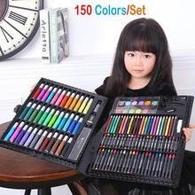 150 шт цветной карандаш, маркер для рисования, карандаш, кисть для рисования, инструмент для рисования, набор для художника, школьные принадлежности для детского сада