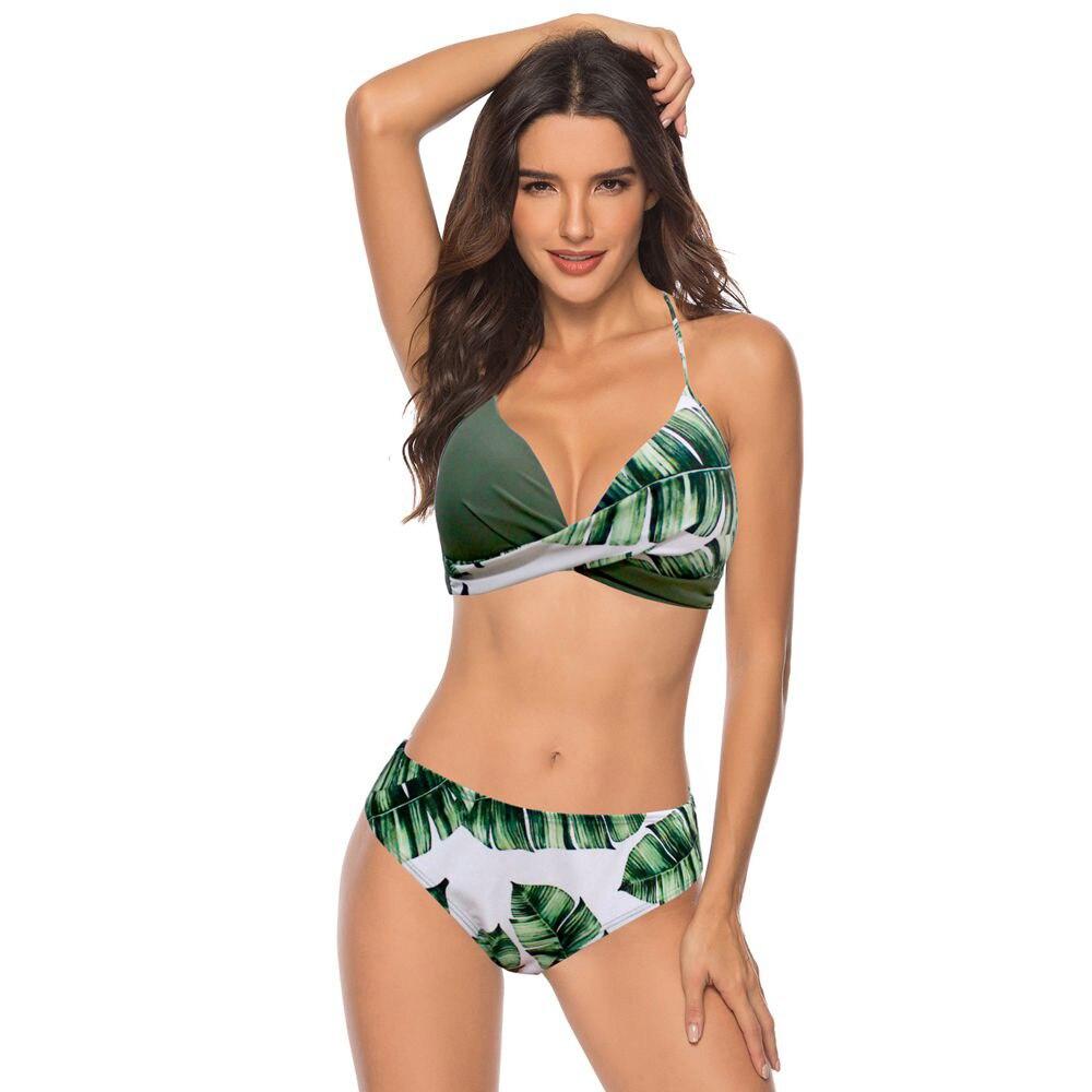 TYAKKVE Sexy  Bikini Set Swimwear Women Print Swimsuit Push Up Polka Dots Bikini Plus Size BathingSuit Beachwear Biquini 3XL - adies-swimwear, bikini-set