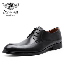 Desai oryginalne skórzane buty męskie 2020 biznes oksfordzie mężczyźni obuwie skóra bydlęca obuwie męskie
