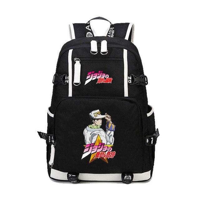 Bizarre Laptop Backpack   Jojo's Bags   Jojo merch