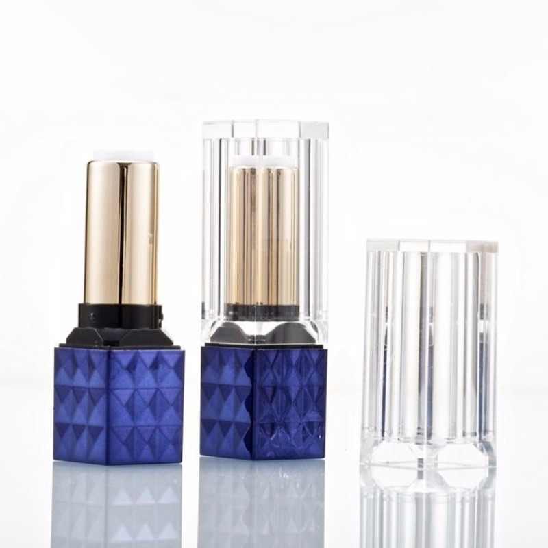1 PC Tabung Lipstik DIY Lip Balm Tabung Buatan Sendiri Tongkat Bibir Kecantikan Lipstik Balm Wadah Kosmetik Kosong Birthday Makeup Panas dijual