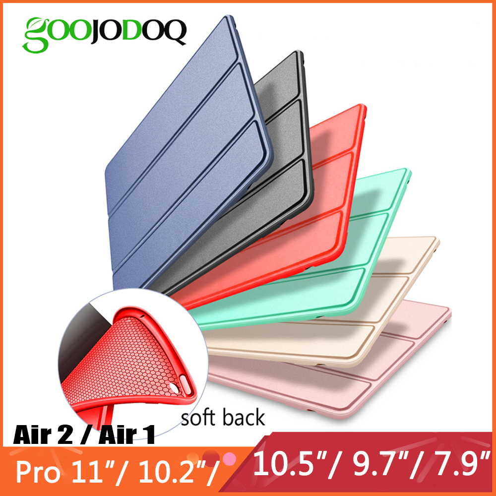 For iPad Air 2 Air 1 Case 10.2 2019 / Pro 11 2020 / Air 3 10.5 / 9.7 2018 Funda for iPad 6th 7th generation Case for iPad 2 3 4(China)