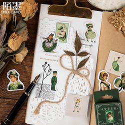 46pcs/pack Creative Angel Love Beautiful  Sticker Seal label for Gifts Box post office Decoration