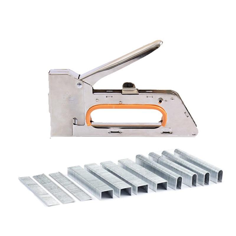 Stapler Heavy Duty Stapler 3 in 1 Manual and 600 Staples Including D, U and T Staples