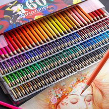 Professional Pencils-Set Art-Supplies Oil-Color Wood Drawing Sketch Brutfuner Soft