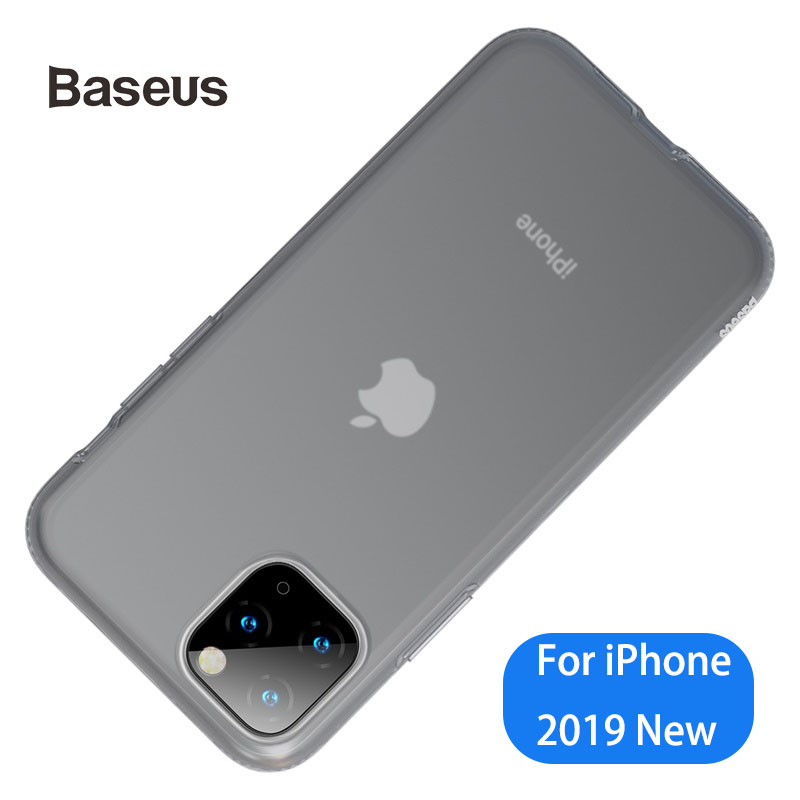 Baseus Ultra Thin Case For IPhone 11 Pro Max Transparent Silicone Soft Case For Apple IPhone Phone Case Cover Coque High Quality