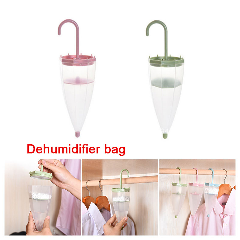 Dehumidifier Drying Agent Home Umbrella Desiccant Hygroscopic Box 4 Colors Household Keeping Dry Indoor Kitchen Supplies