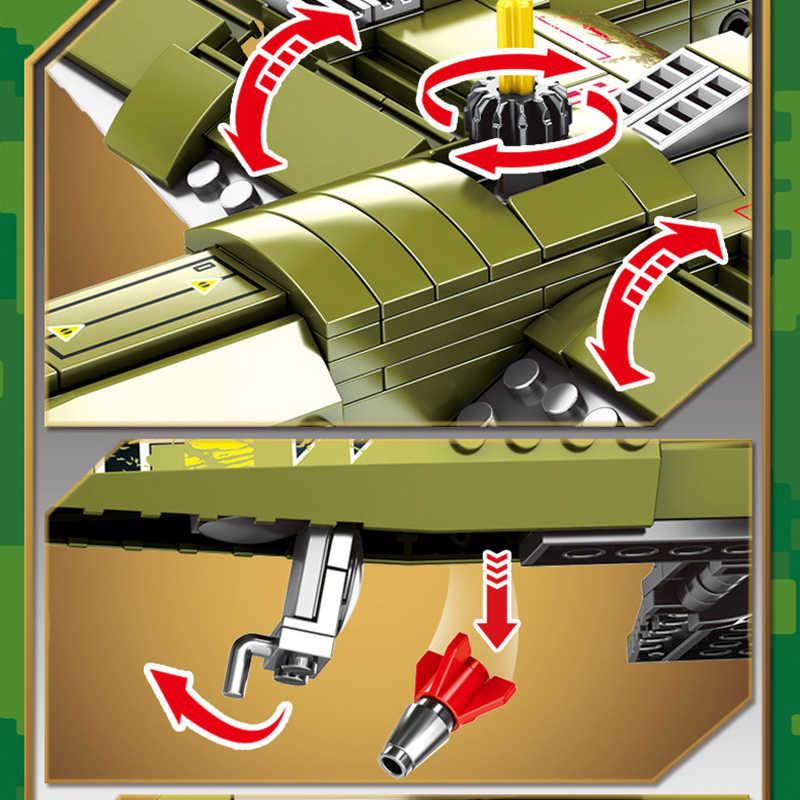 559pcs Military Ju-88 Bombing Plane Building Blocks Bricks Army Soldier kit Toy