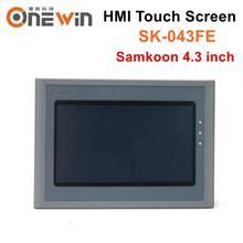 شاشة تعمل باللمس Samkoon HMI SK 043FE شاشة عرض واجهة المضيف البشري USB 4.3 بوصة استبدال SK 043AE