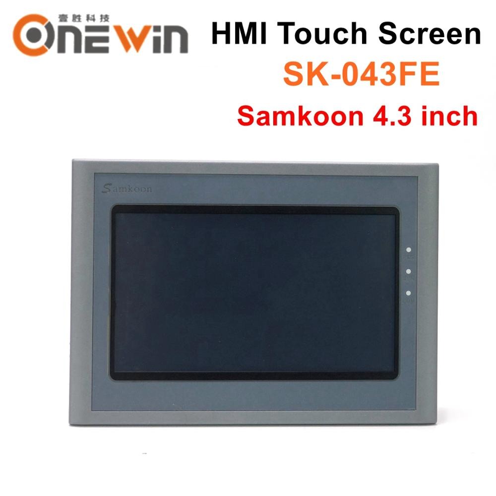 Samkoon HMI touch screen SK 043FE 4.3 inch USB Host Human Machine Interface Display replace SK 043AE CNC Controller     - title=