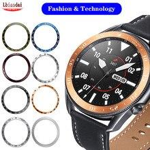Bague lunette pour Samsung Galaxy Watch 3 45mm 41mm/46mm/42mm/Gear S3 Frontier, accessoire sport, boîtier protecteur en métal Anti-chute