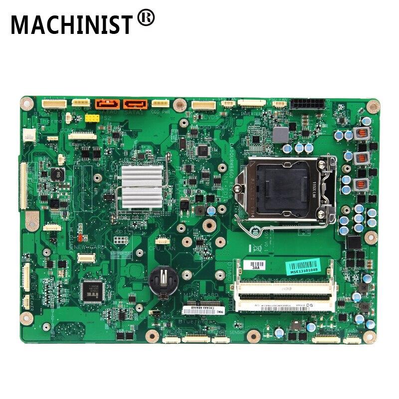 Original For Lenovo AIO Thinkcentre IQ57 M70Z M90Z M92Z M9000Z Laptop Motherboard LGA 1156 DDR3 03T6428 DA0QU8MB6G0