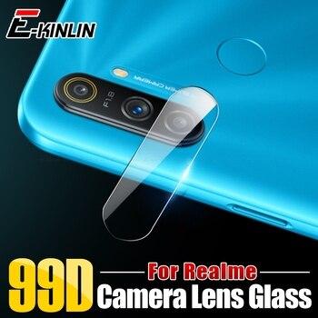 Перейти на Алиэкспресс и купить Прозрачная задняя крышка для объектива камеры, защитная пленка для экрана, закаленное стекло для OPPO Realme C2 C3 C3i Narzo 10 10A Global