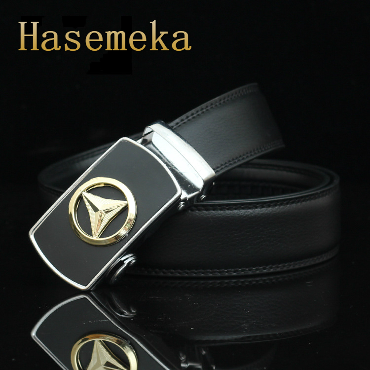 Top Quality Mens Business Style Belt Brand Designer Leather Strap Male Belt Alloy Automatic Buckle Belts For Men Girdle Belts.