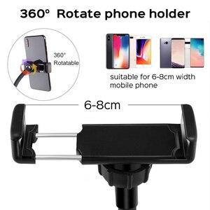 """Image 2 - 10 """"USB Selfie Vòng Sáng Đèn Âm Trần LED Selfie Vòng Ánh Sáng Với 3 Chân Cho Điện Thoại Video Trực Tiếp Studio Chụp Ảnh ringlight Bộ"""