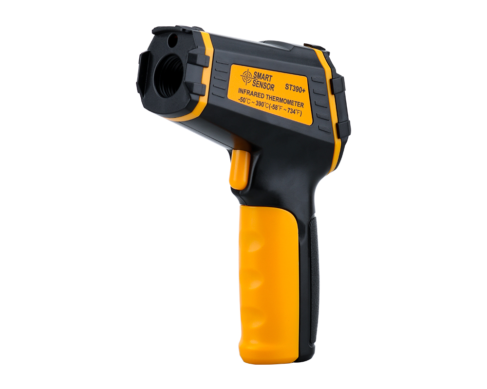 Non Contact Infrared Thermometer Gun to Measure Surface Temperature of Hazardous Object 21