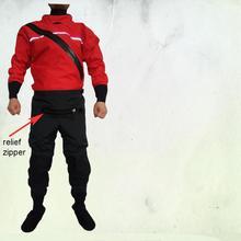 แห้งชุด Whitewater KAYAK Drysuit ชุดว่ายน้ำกันน้ำ Race สูทโคลน ATV และ UTV Rider กิจกรรมการผจญภัยการล่าสัตว์ตกปลา 5
