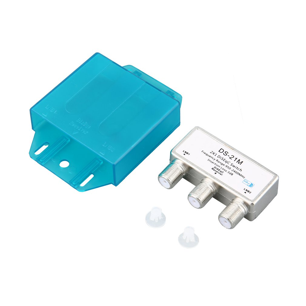 Water Proof DiSEqC Switch 2 In 1 Rainproof Two-in-one Switch X-21M Compatible With More Types Of Satellite Receiver