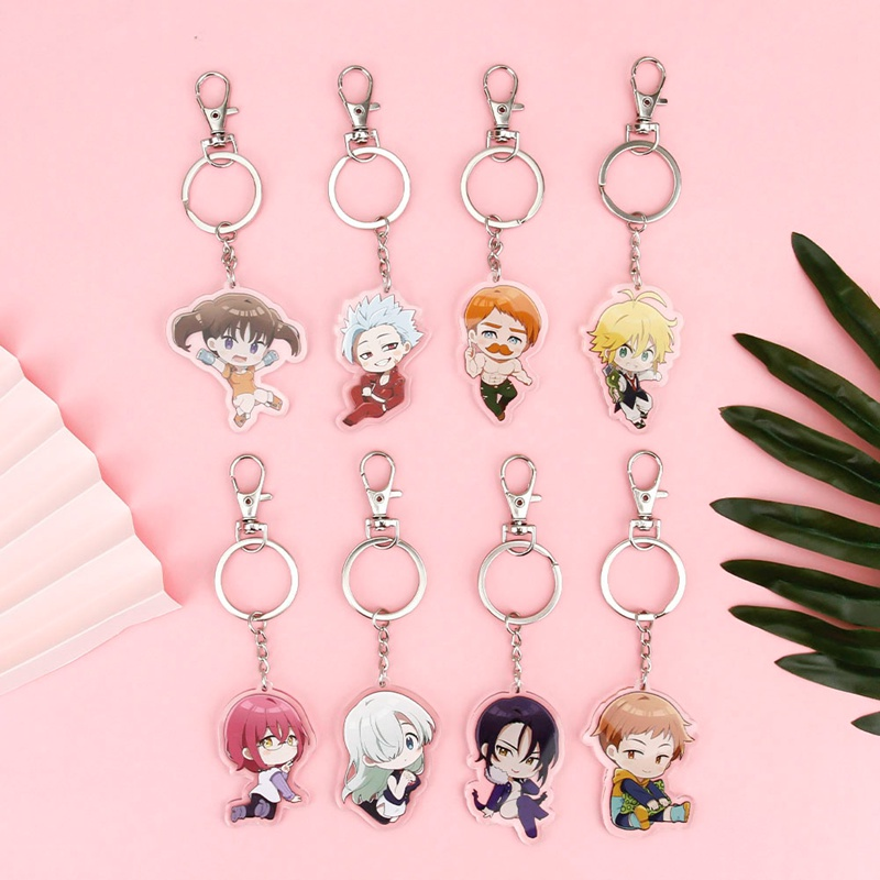 Llavero Anime Anime The Seven Deadly Sins Keychain Key Chain