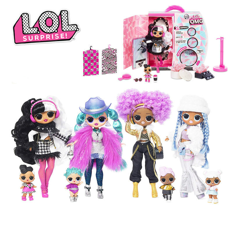 L.O.L. Surprise Lol Surprises Omg Toys Crystal Star Reprint Dolls Accessories For Girlfriend Children Kids Christmas Gifts Doll