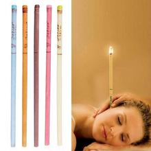 10 pcs Ear Cleaner Wax Removal Ear Candles Treatment Care Healthy Hollow Cone In