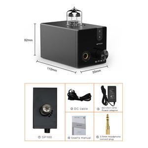 Image 5 - SMSL M100 MKII + SMSL SP100 الصوت DAC USB AK4452 Hifi dac فك DSD512 XMOS XU208 أنبوب مضخم ضوت سماعات الأذن مدخل بصري محوري