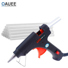 Glue-Gun Heat-Temperature-Tool Electric Hot-Melt Repair-Set Oauee 20W with 7mm--100mm