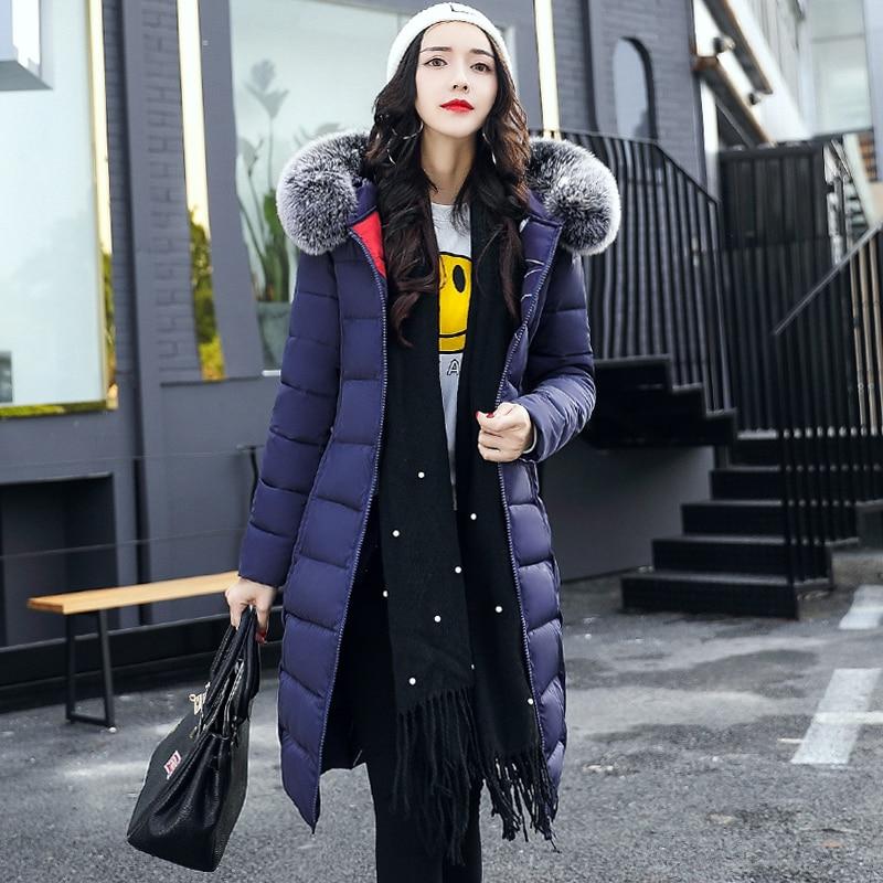 Женская длинная куртка с капюшоном, повседневная Толстая парка с хлопковой подкладкой, зимняя верхняя одежда, большие размеры, 2020