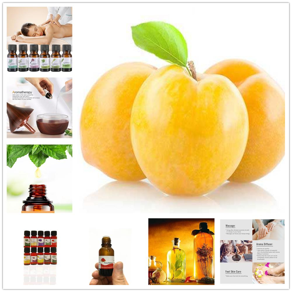 100% Pure Plum Essential Oils Diffusers Aroma Apricot Oil Natural Mango Massage Essential Oil For Aromatic Aromatherapy