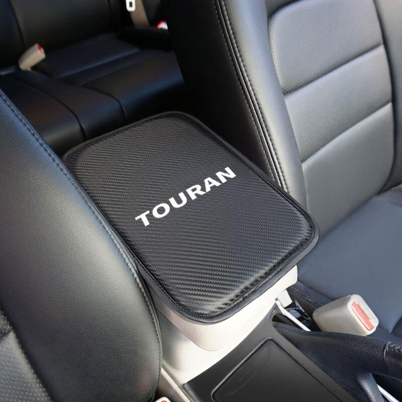 1 pièces Auto Console accoudoir Central coussin souple coussin tapis pour Volkswagen VW Touran 2004 2005 2007 2008 2016 accessoires de voiture