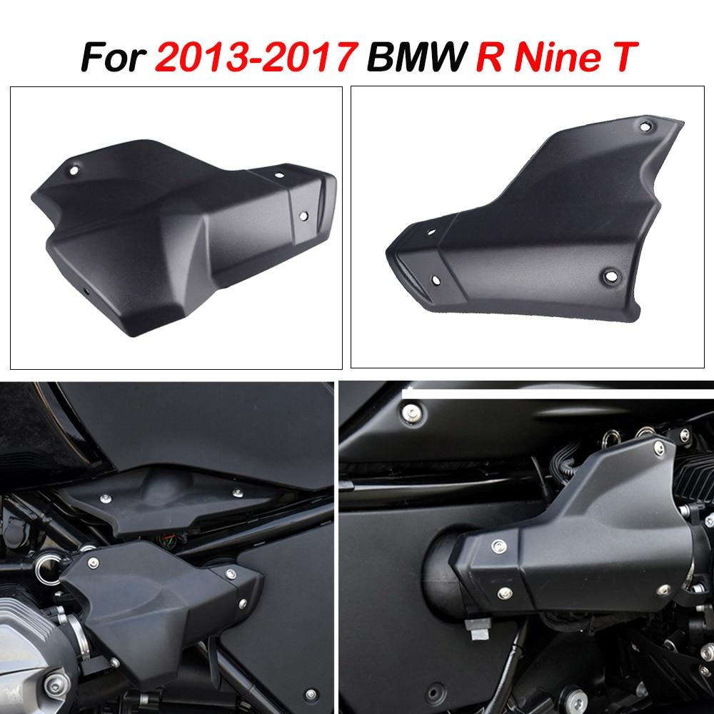 Protection noire de protection de couvercle de culasse de moteur d'injection de poussière pour 2013 2014 2015 2016 2017 BMW R NINE T R9T RNINET