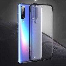 Тонкий прозрачный матовый чехол для Xiaomi mi 8 9 SE 9T A2 A3 Lite CC9E чехол Red mi 6A 7 7A K20 Примечание 6 7 8 Pro жесткая задняя панель из поликарбоната