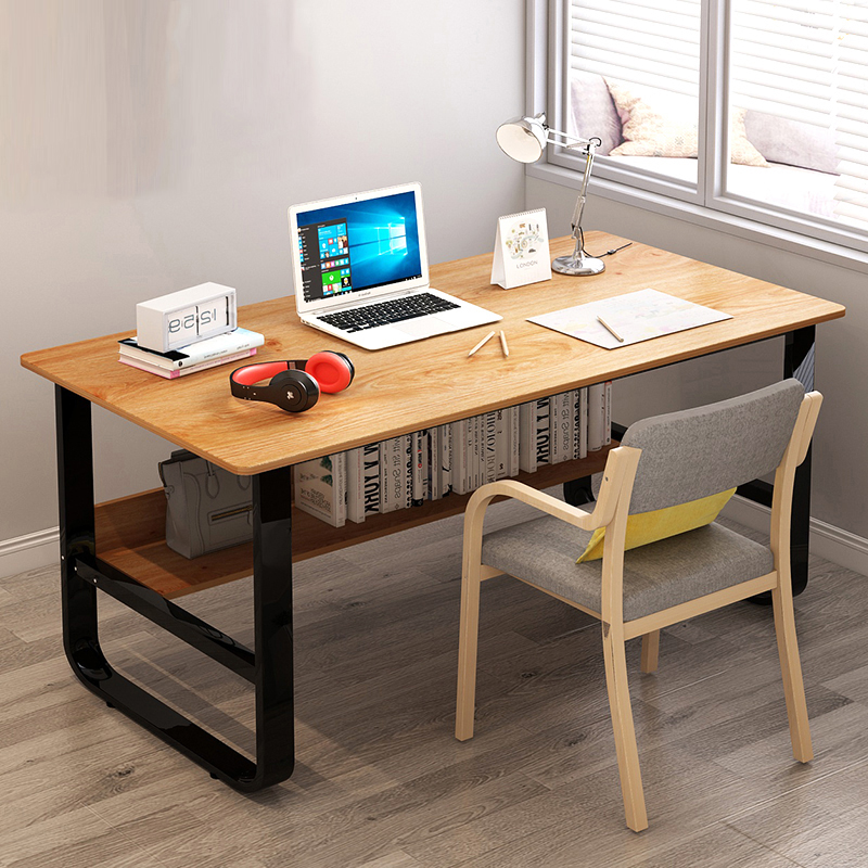 Computer Desk Table Desktop Home Secretary Contracted And Contemporary Desk Double Bedroom Table Easy To Learn