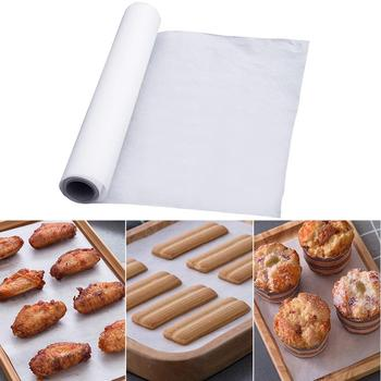 5/10/20/35m Kitchen Greaseproof Non-stick Oven Liner BBQ Baking Cooking Paper Non Stick Cookie Sheet Parchment Paper Baking Tool image