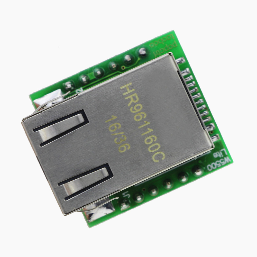 Taidacent W5500 Ethernet TCP IP Protocol Stack SPI Ethernet Module Compatible With WIZ820io IoT SPI To LAN/ Ethernet Converter