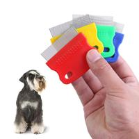 1Pc Pet Dog Flea Cleaning Comb Steel Grooming Combs Hair Trimmer Brushes Dog Grooming Tools Dog Cat Clean Tool Catching Lice