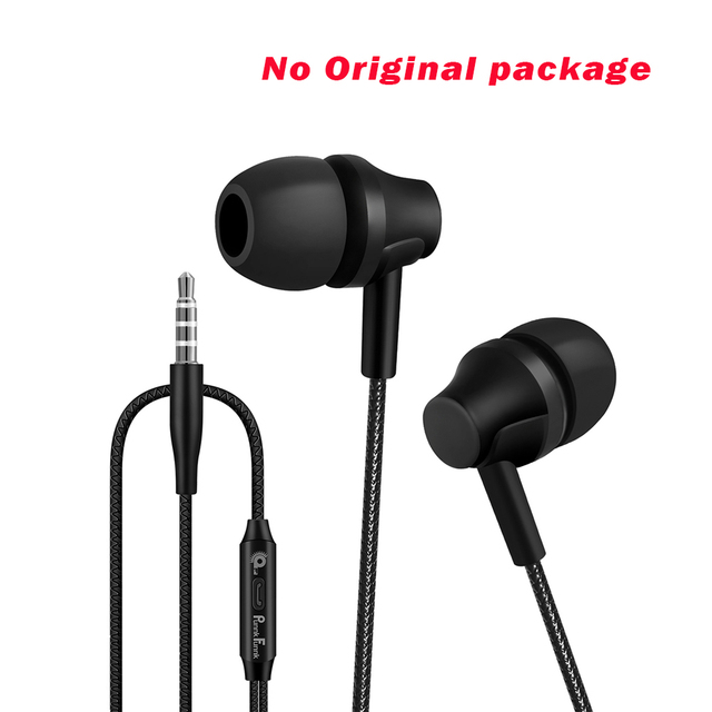 Wired Earphones Hifi Headphones 1.2M  In ear  Deep Bass Stereo Earbuds Gaming headset W/Mic For Iphone Samsung  LG xiaomi and Pc 1