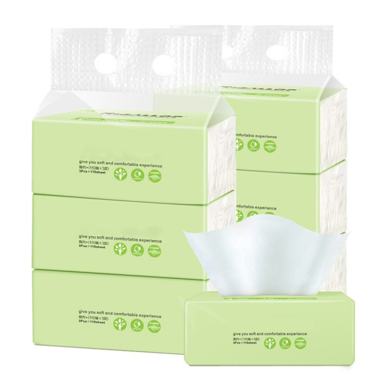 Toilet Paper 3pcs/set Packaging No Chemicals  Low Sensitivity Restaurant Paper Pumping Paper Wholesale