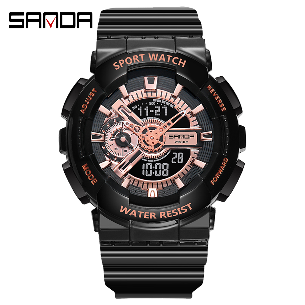 2020 SANDA Military Men's Watch Top Brand Luxury Waterproof Sport Wristwatch Fashion Quartz Clock Couple Watch relogio masculino 24