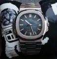 Genève horloge Nautilus stijl Miyota automatische mechanische beweging LGXIGE saffierglas 316L staal