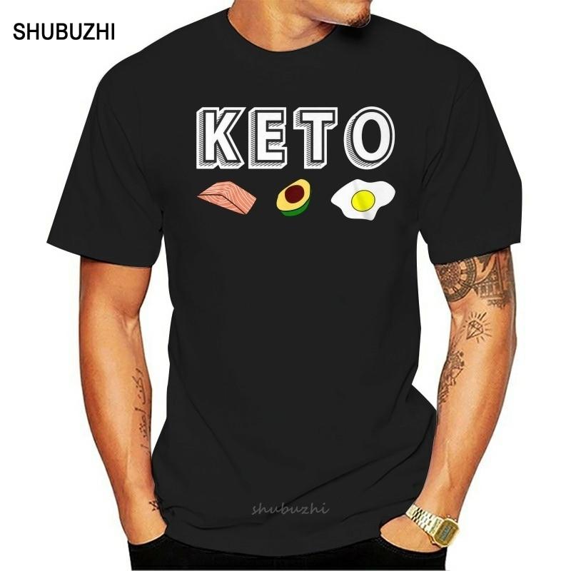 Keto Diet Standard Unisex T-Shirt men cotton tshirt summer brand teeshirt euro size free shipping