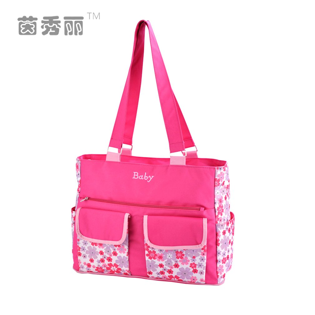 Hot ! Insular Multi-Function Baby Bag Shoulder Bag Large Capacity Waterproof Maternity Mummy Bag With Diaper Changing Mat