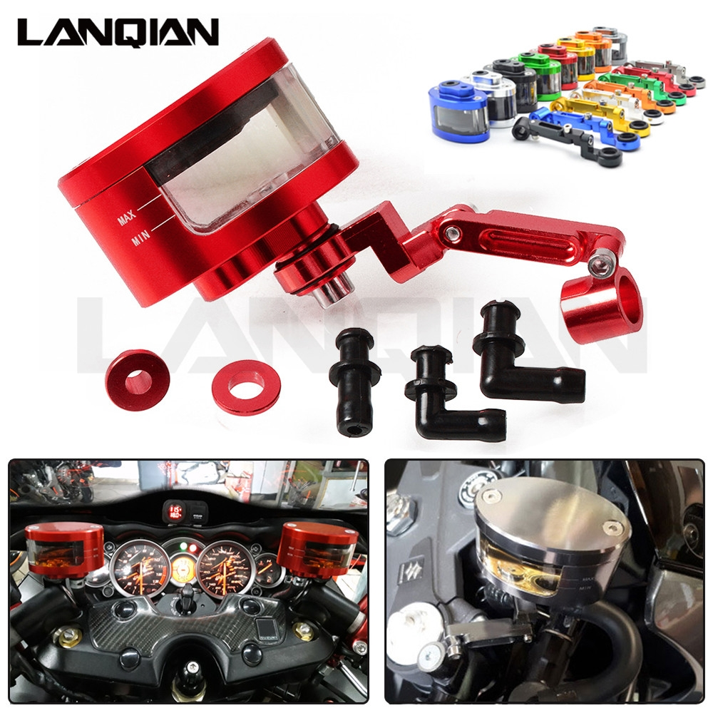 Motorcycle Front Brake Fluid Reservoir Clutch Tank Oil Fluid Cup For <font><b>Honda</b></font> cbr600 CBR1000RR pcx 125 <font><b>Hornet</b></font> <font><b>600</b></font> <font><b>Hornet</b></font> 900 CB500X image