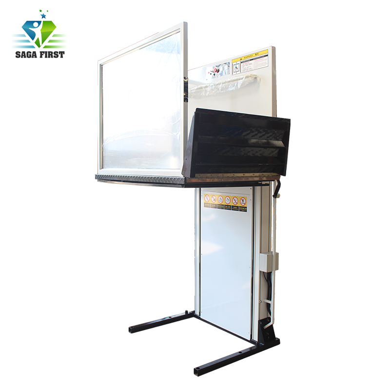 Outdoor Vertical Handicap Wheelchair Platform Lift For Disabled Lift Table