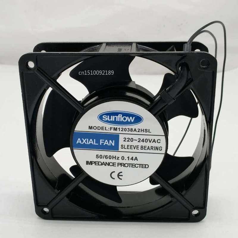 For Axial Fan AAA FM12038A2HSL 220V-240V 0.14A Cooling Fan Free Shipping