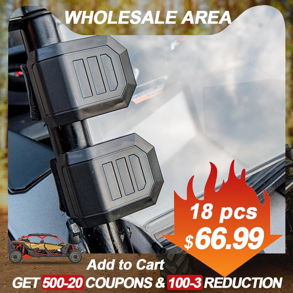 UTV Universal Windshield Window HD Clamp For Can-Am Maverick X3 1000 Commander For Honda Pioneer For Polaris RZR For Cf Moto