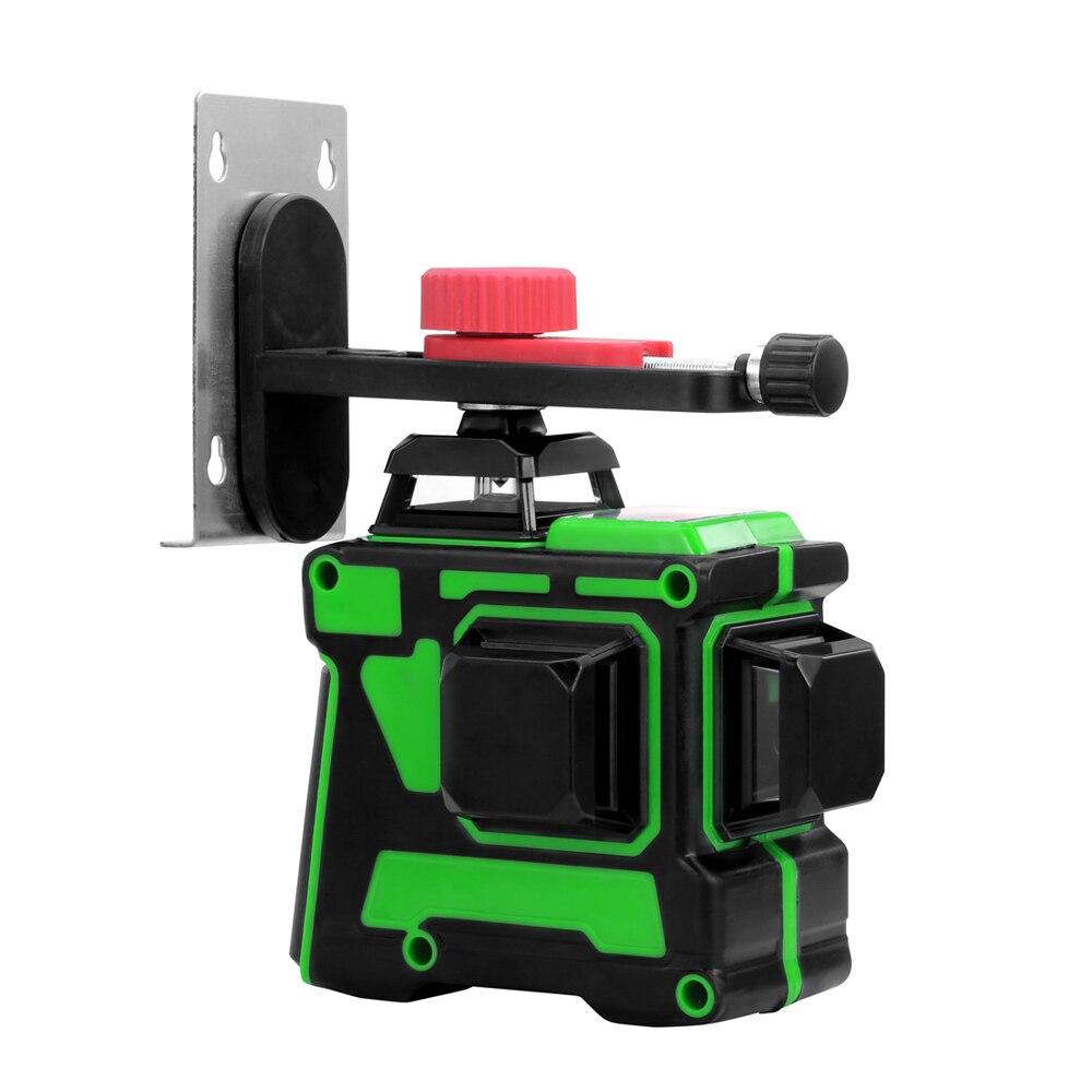 Купить allsome 12 линий 3d зеленый лазерный уровень горизонтальные