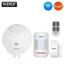 KERUI Tuya بوابة متعددة الوظائف واي فاي أمن الوطن نظام إنذار ذكي ذكي العمل مع جوجل مساعد/التحكم اليكسا