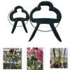 20 Piece Gentle Support Gardening Lever Loop Gripper Clips for Plant & Flower Vine Vegetables